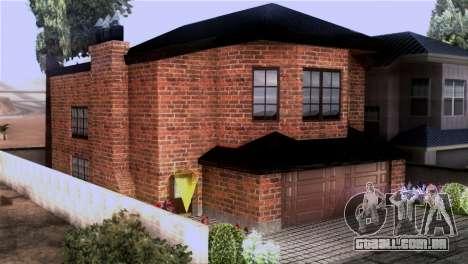 CJs New Brick House para GTA San Andreas segunda tela