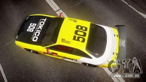 Nissan Silvia S14 TOKICO para GTA 4 vista direita