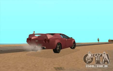 GTA VC Infernus SA Style para GTA San Andreas vista direita