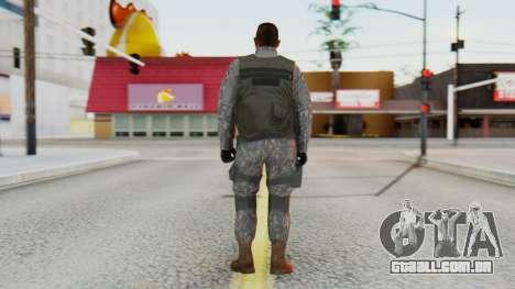 [GTA5] BlackOps1 Army Skin para GTA San Andreas terceira tela