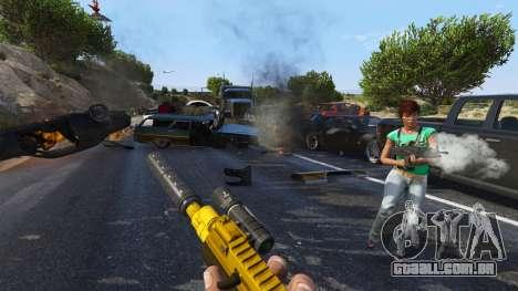 A revolta dos cidadãos (Modo Chaos) 0.6.1 para GTA 5
