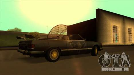 FreeShow Feltzer para GTA San Andreas vista inferior