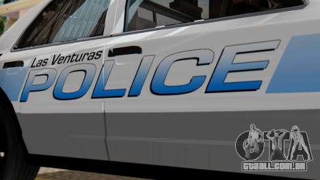 Police LV 2013 para GTA San Andreas vista direita
