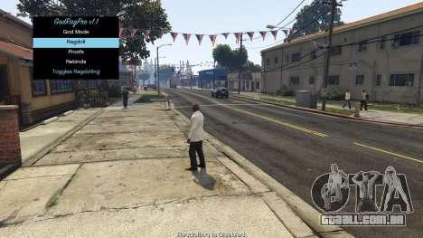 GTA 5 GodRagPro 1.1 segundo screenshot