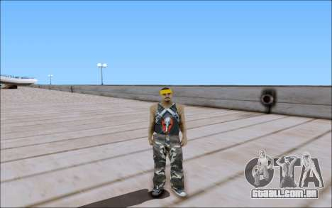 Los Santos Vagos Skin Pack para GTA San Andreas quinto tela