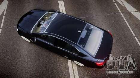 Holden VF Commodore SS Unmarked Police [ELS] para GTA 4 vista direita