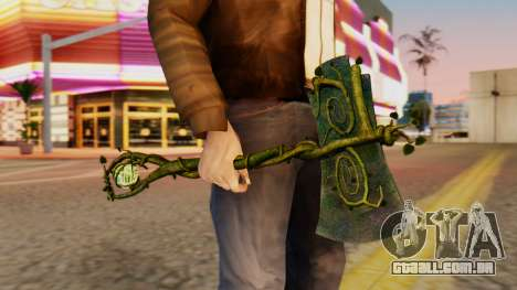 Nature Axe para GTA San Andreas terceira tela