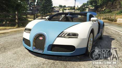 Bugatti Veyron Grand Sport v2.0 para GTA 5