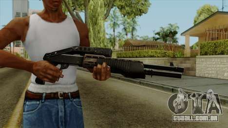 Original HD Shotgun para GTA San Andreas terceira tela