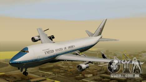 Boeing 747 E-4B para GTA San Andreas