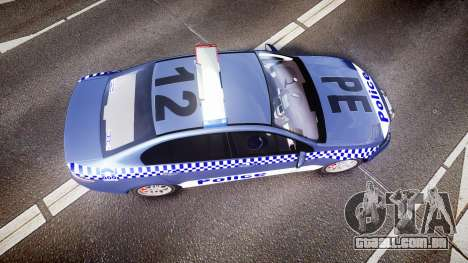 Ford Falcon FG XR6 Turbo NSW Police [ELS] para GTA 4 vista direita