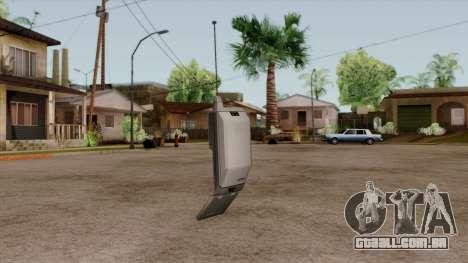 Original HD Cell Phone para GTA San Andreas segunda tela