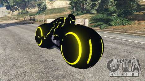 Tron Bike yellow para GTA 5
