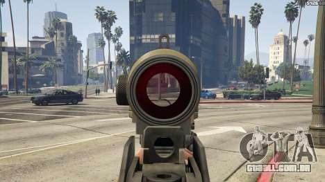 GTA 5 Battlefield 3 G36C v1.1 sétima screenshot