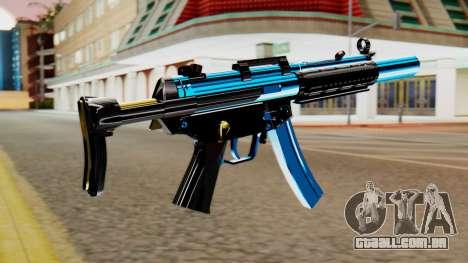 Fulmicotone MP5 para GTA San Andreas segunda tela