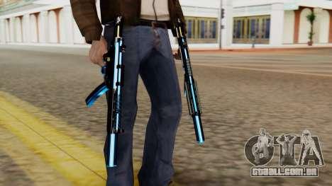 Fulmicotone MP5 para GTA San Andreas terceira tela