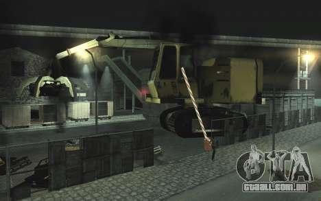 Automotivo ferro-velho v0.1 para GTA San Andreas segunda tela