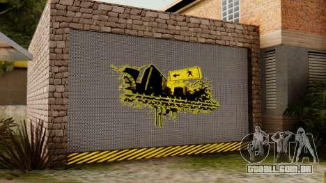 O CJ casa para GTA San Andreas terceira tela