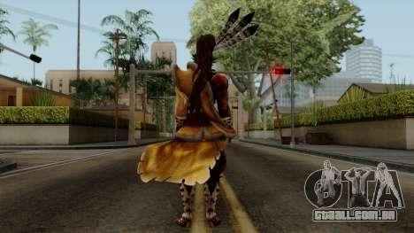 Sengoku Basara 3 - Maeda Keiji para GTA San Andreas terceira tela