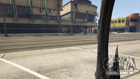 GTA 5 Daedric sword [Skyrim] quinta imagem de tela