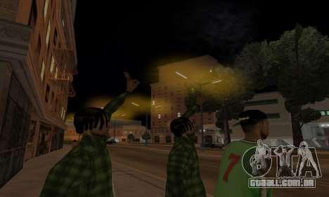 Lamppost Lights v3.0 para GTA San Andreas quinto tela