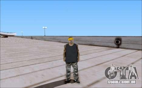 Los Santos Vagos Skin Pack para GTA San Andreas terceira tela