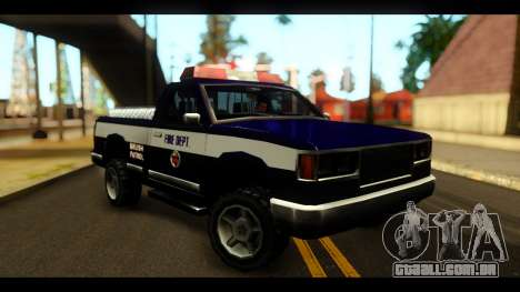 FDSA Brush Patrol Car para GTA San Andreas