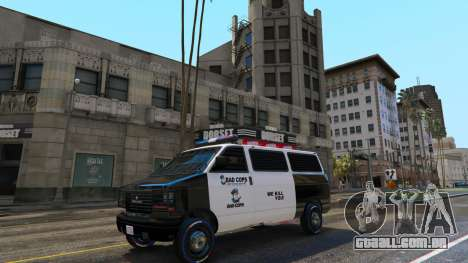 GTA 5 Bad Cops LSPD Livery 1.1 terceiro screenshot