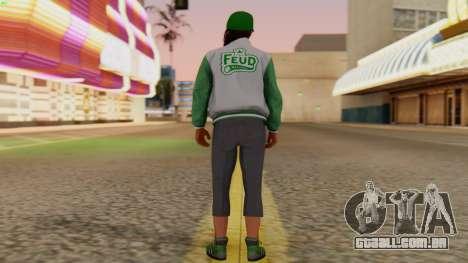 [GTA5] Fam Girl para GTA San Andreas terceira tela