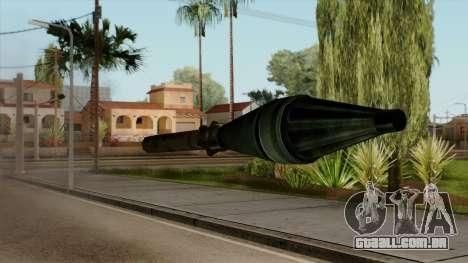 Original HD Missile para GTA San Andreas terceira tela