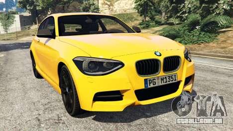 BMW M135i (F21) 2013 para GTA 5