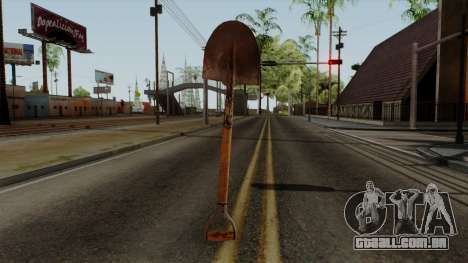 Original HD Shovel para GTA San Andreas terceira tela