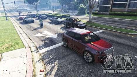 GTA 5 Realista, enchendo as ruas e estradas 4GBRAM segundo screenshot