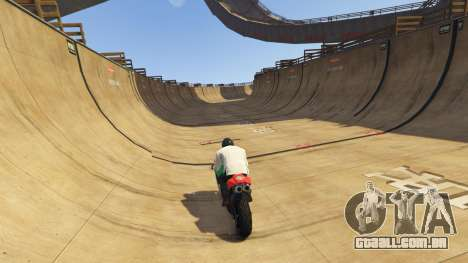 Double-Loop Racing-Court para GTA 5