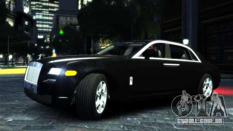 Rolls-Royce Ghost 2013 v1.0 para GTA 4 esquerda vista