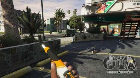 AK47 - Asiimov Edition para GTA 5