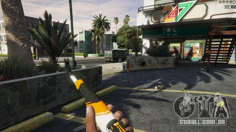 GTA 5 AK47 - Asiimov Edition quinta imagem de tela