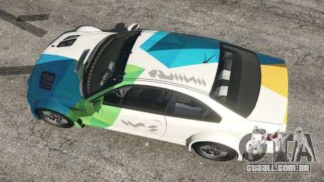 GTA 5 BMW M3 GTR E46 PJ1 voltar vista