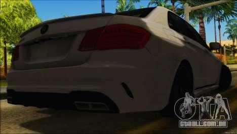 Mercedes-Benz E63 Brabus BUFG Edition para GTA San Andreas vista interior