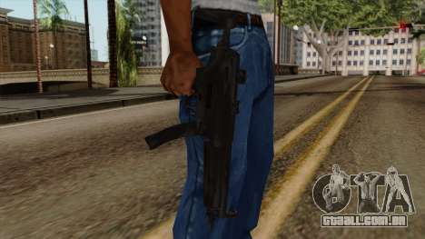 Original HD MP5 para GTA San Andreas terceira tela