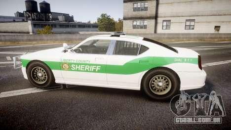 Bravado Buffalo Police [ELS] para GTA 4 esquerda vista