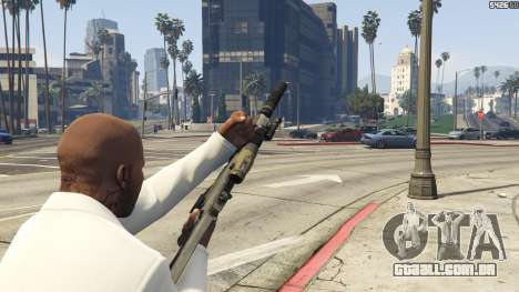 GTA 5 Battlefield 3 G36C v1.1 quarto screenshot