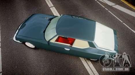 Citroen SM para GTA 4 vista direita