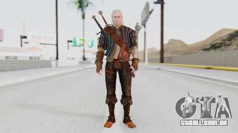 [O Game] Geralt para GTA San Andreas segunda tela