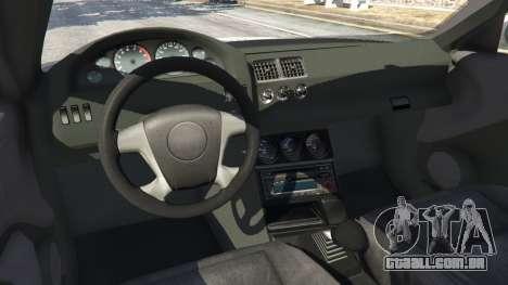 GTA 5 BMW M3 GTR E46 PJ4 vista lateral direita