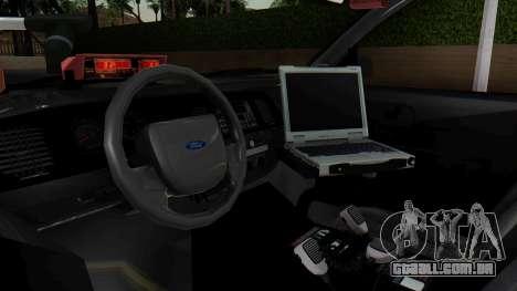 FBI Rancher 2013 para GTA San Andreas vista direita