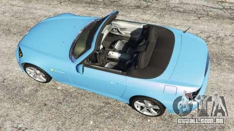 GTA 5 Honda S2000 voltar vista