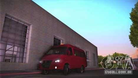 Gás 32213 para GTA San Andreas esquerda vista