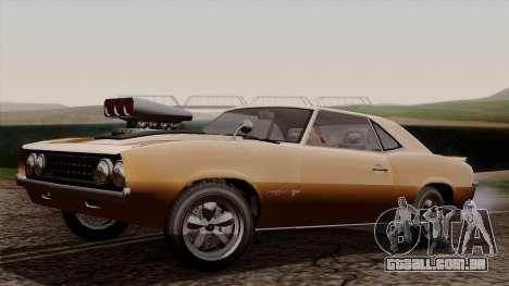 GTA 5 Declasse Vigero para GTA San Andreas vista direita