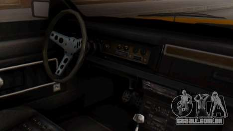 GTA 5 Albany Esperanto IVF para GTA San Andreas vista direita